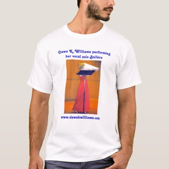 Camisa del concierto de Bailero