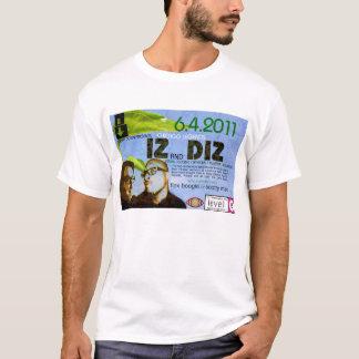 camisa del concierto del iz y del diz