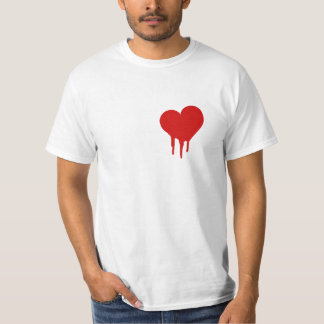 Camisa del corazón sangrante