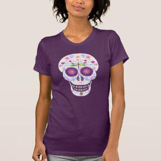 Camisa del cráneo del azúcar de la libélula