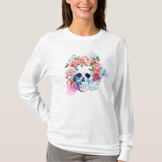 Camisa del cráneo Elegant Dia de los Muertos