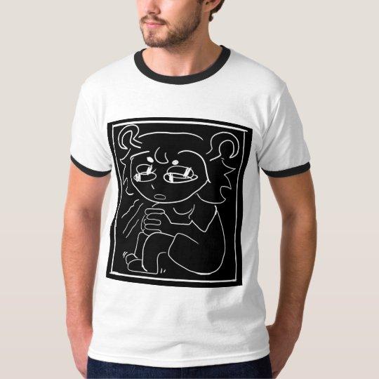 camisa del cubo de la ansiedad