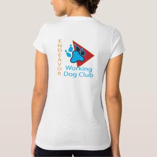 Camisa del cuello en v del logotipo del club del
