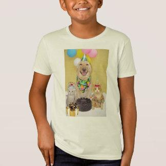 Camisa del cumpleaños
