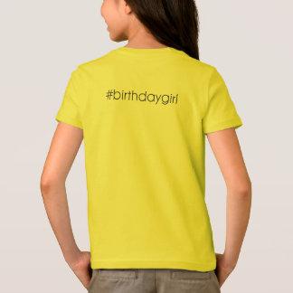 Camisa del cumpleaños de Emoji