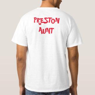 Camisa del cumpleaños de Preston