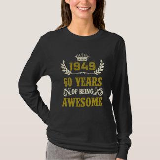 Camisa del cumpleaños por 69 años.
