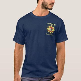 Camisa del deber del departamento de bomberos de