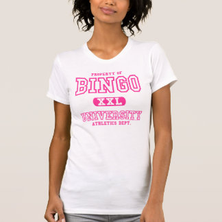 Camisa del departamento del atletismo de la univer
