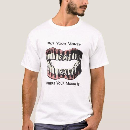 camisa del dinero 321go