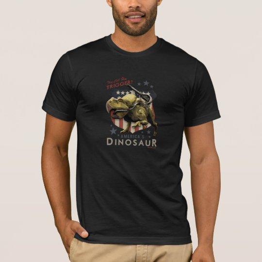Camisa del disparador del día D de Dino