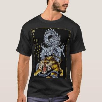 Camisa del dragón de la fuente del karate de