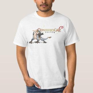 Camisa del dragón de la puerta del concierto