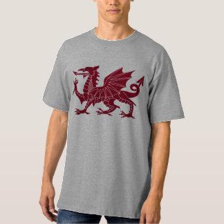 Camisa del dragón Y Ddraig Goch Galés