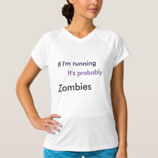 Camisa del ejercicio (que corre de zombis)