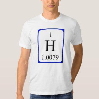 Camisa del elemento 1 - hidrógeno
