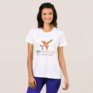 camisa del entrenamiento de las mujeres amistosas