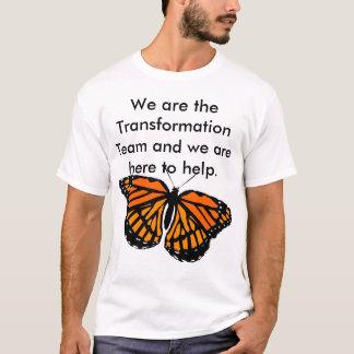 Camisa del equipo de la transformación