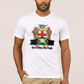 Camisa del escudo de armas de Jamaica