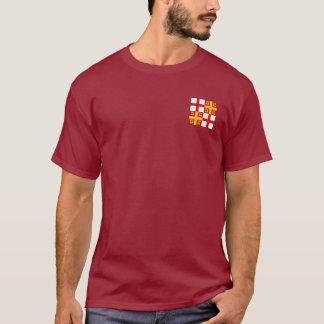 Camisa del escudo de armas del imperio bizantino