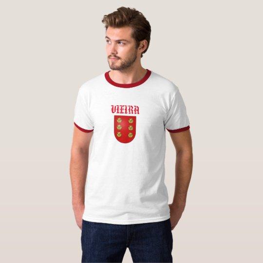Camisa del escudo de la familia del apellido de