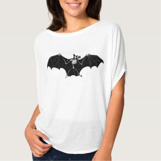 Camisa del esqueleto del palo de Halloween