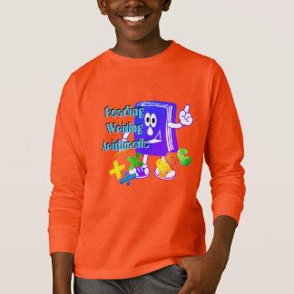 Camisa del estudiante de tres Rs