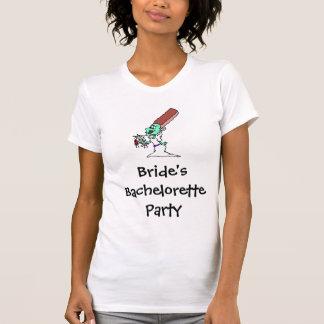 Camisa del fiesta de Bachelorette con Bridezilla