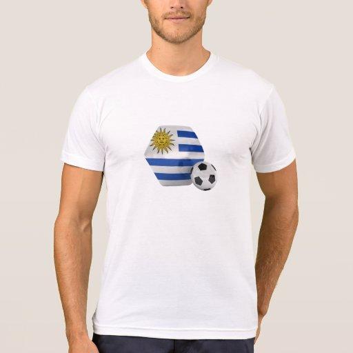 Camisa del fútbol de la bandera de Uruguay