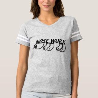 Camisa del fútbol de las mujeres del trabajo de la