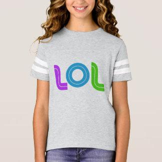 Camisa del fútbol de los chicas de LOL