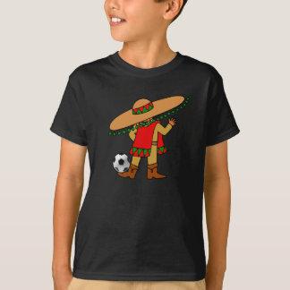 Camisa del fútbol del futbol de los niños de
