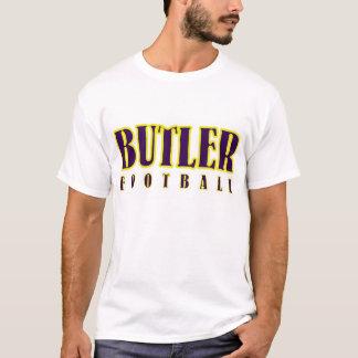 Camisa del fútbol del mayordomo (horario)