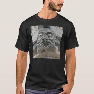 camisa del gargoyle de la Dedo-para arriba-nariz