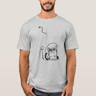 Camisa del gato del astronauta