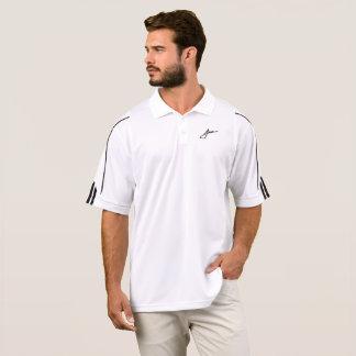 Camisa del golf de la firma de Johnson