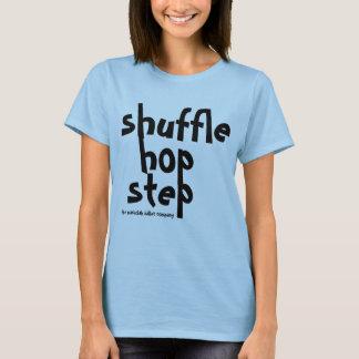 camisa del golpeador del paso del salto de la