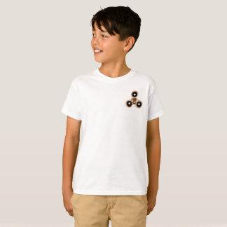 Camisa del hilandero de la persona agitada