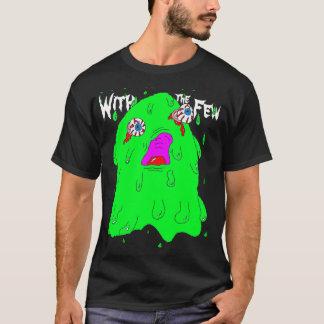 Camisa del hombre de la gota de la sangría