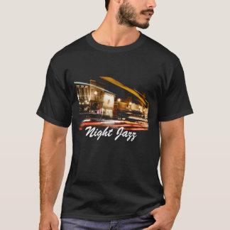 Camisa del jazz de la noche