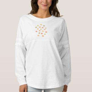 Camisa del jersey del alcohol de las mujeres de la