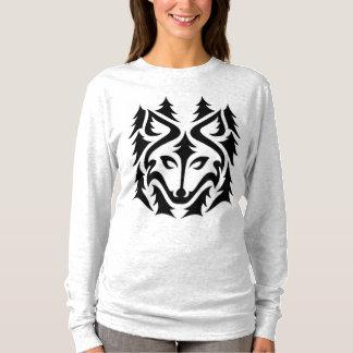 Camisa del lobo del bosque
