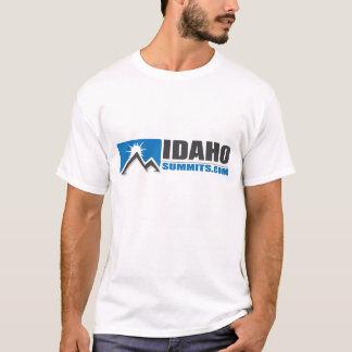 camisa del logotipo de Idahosummits.com