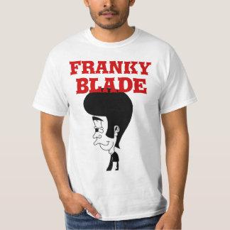 Camisa del logotipo del engrasador de la cuchilla