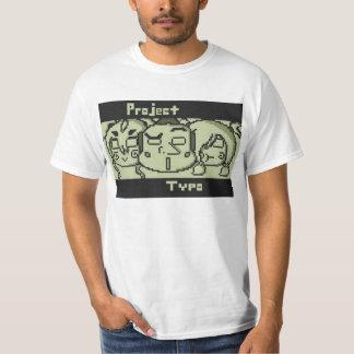 ¡Camisa del logotipo del error tipográfico del Camiseta