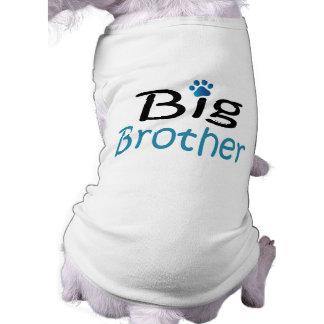 Camisa del mascota de hermano mayor