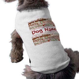 Camisa del mascota de las Felices Navidad - person