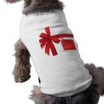 Camisa del mascota del regalo de Navidad Camisetas De Mascota