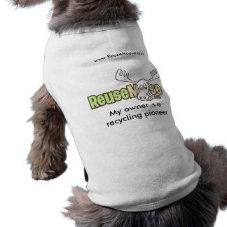 Camisa del mascota - ReuseMoose com Ropa De Perro