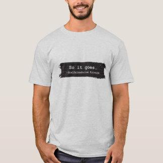 Camisa del matadero cinco de Kurt Vonnegut